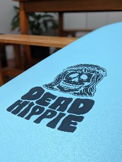 dead hippie surfboard
