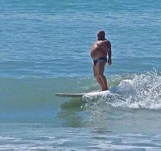 fat surf old