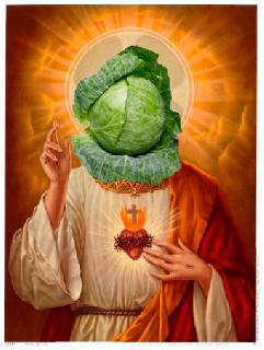 jesus lettuce