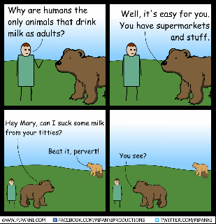 human drink milk