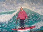 grandma surf