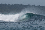 bali surf wipeout