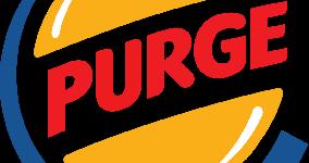 the purge burger king logo