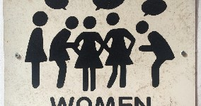 womens bathroom sign in vietnam