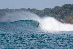 bali surf barrell