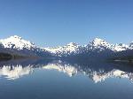 glacier park montana lake