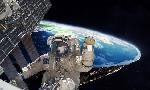 flat earth space