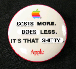 Apple cost more do less