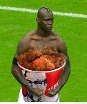 black man kfc
