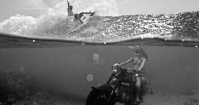surf chick bw01a boobs