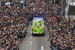 Hong Kong protest ambulance 2019